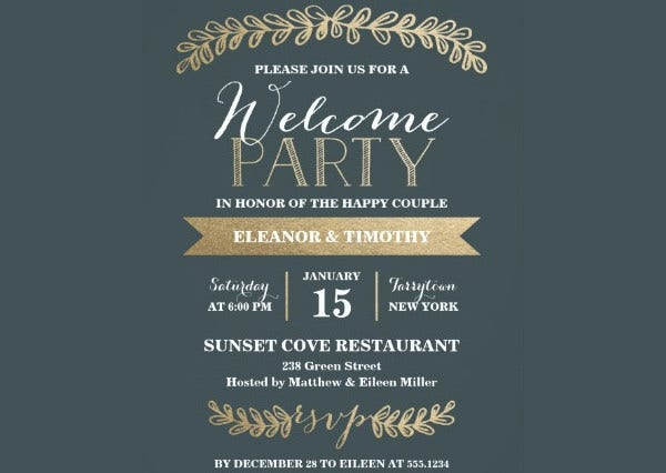 printable event invitations free premium templates. Black Bedroom Furniture Sets. Home Design Ideas