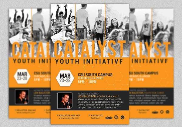 youth participant event invitation