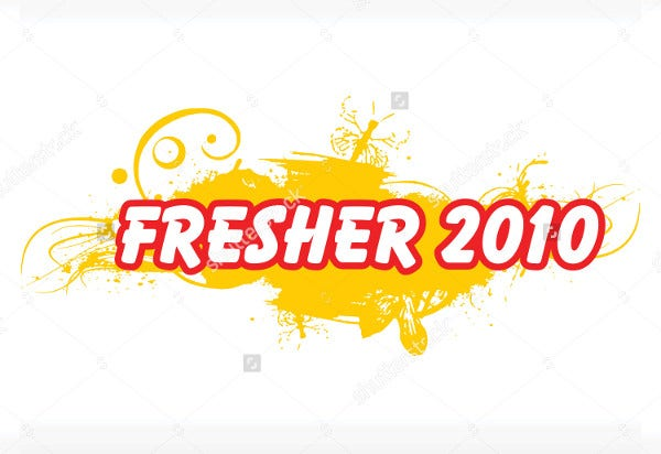 freshers party event invitation1