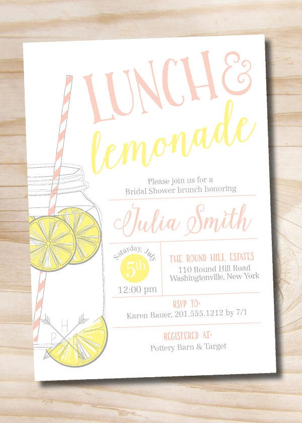 43 sample invitations free premium templates sample lunch party invitation stopboris
