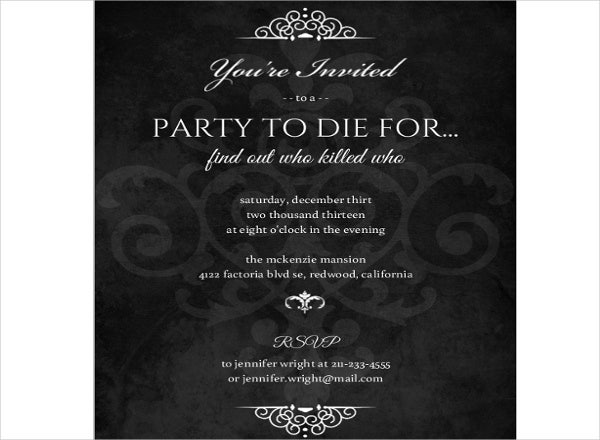 34  sample invitation templates