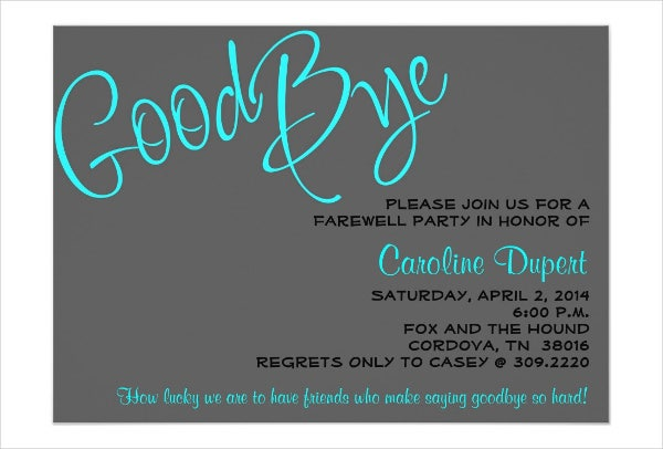 Wedding Reception Invitation Templates