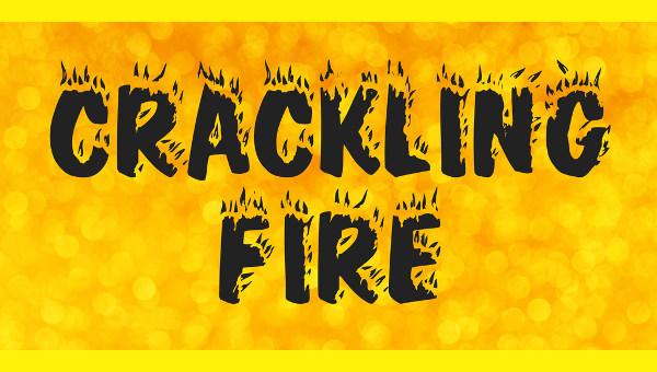 realistic fire font1