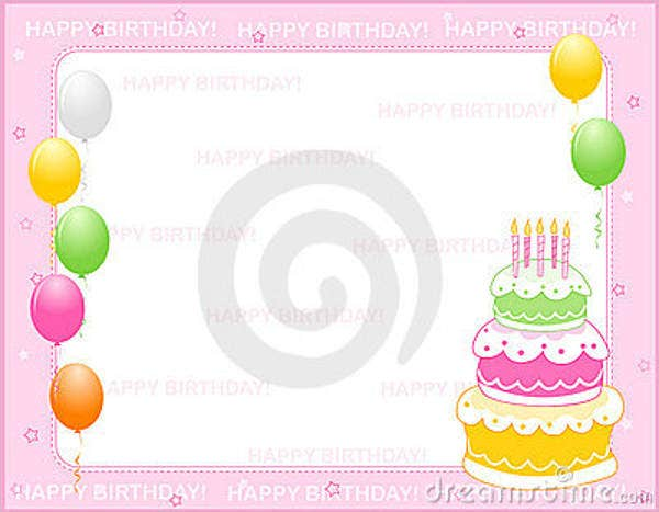 free birthday invitation card