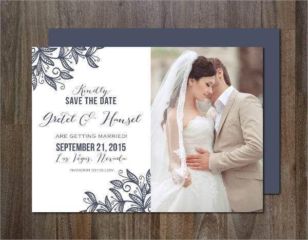 Personal Photo Wedding Invitations