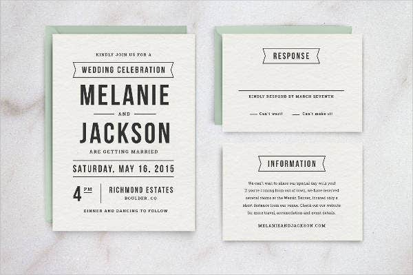Diy Retro Wedding Invitations