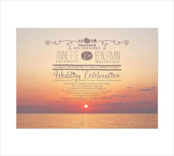 Destination Themed Wedding Invitations