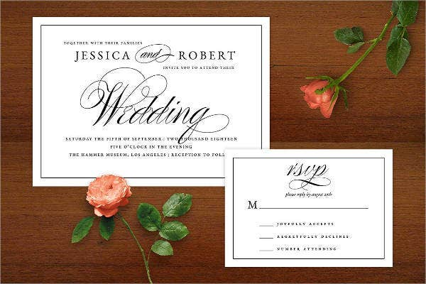 diy traditional wedding invitations