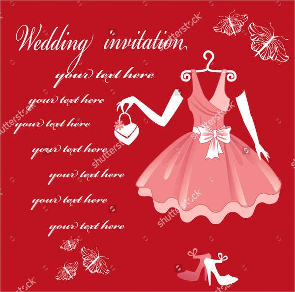 formal traditional wedding invitations