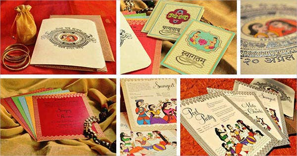 handmade traditional wedding invitations