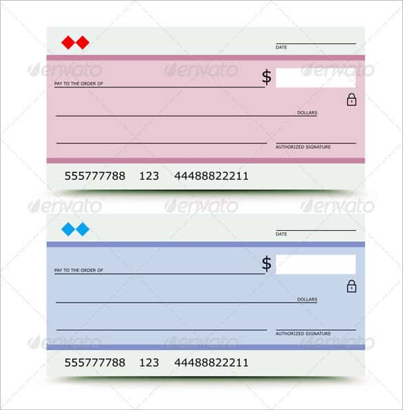 Editable Blank Check Template – Printable Editable Blank