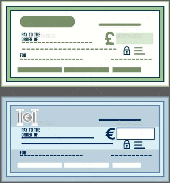 24 Blank Check Template Doc Psd