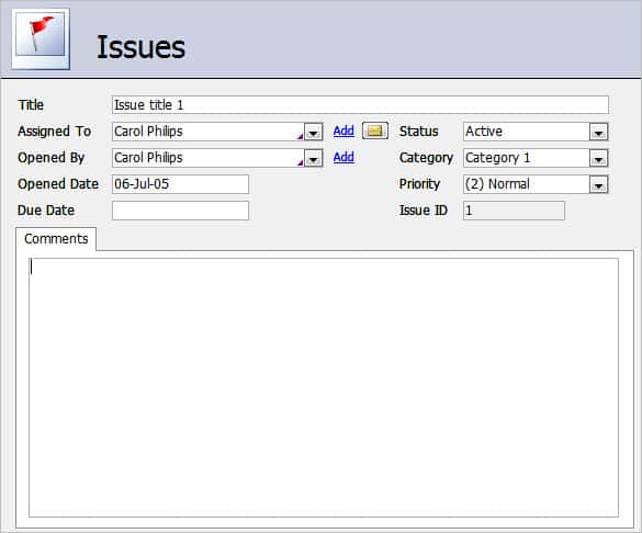 company inventory access database template 2010 min