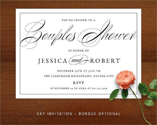 diy formal wedding invitation