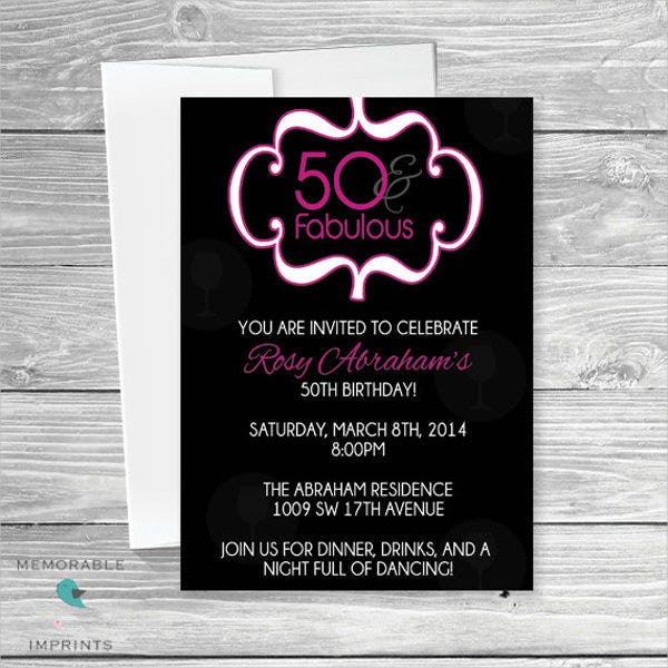 50th-birthday-invitation-card