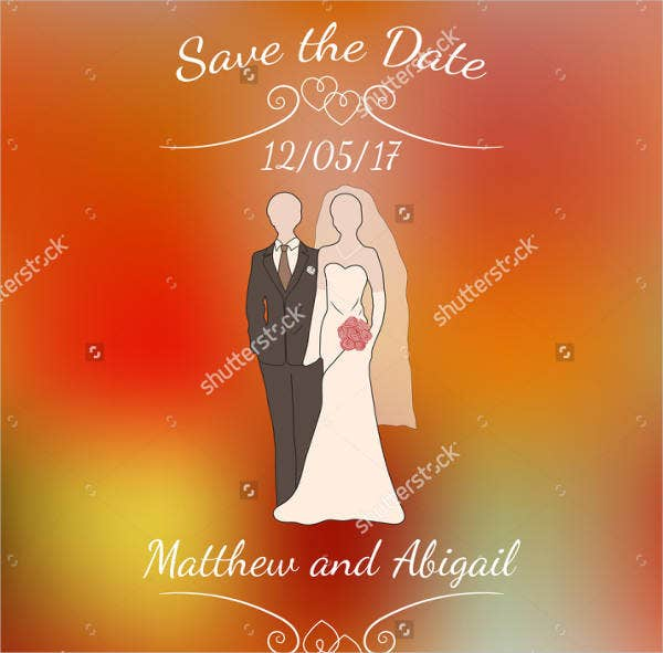 formal dress wedding invitation