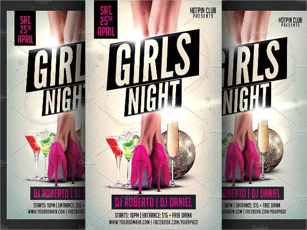 ladies-night-event-invitation