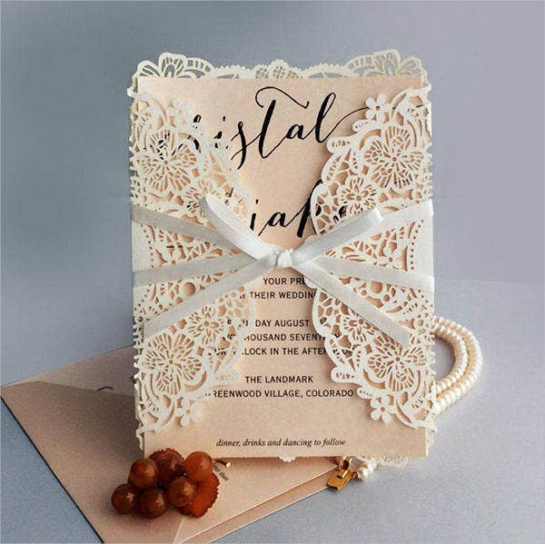 Garden Gate Wedding Invitations
