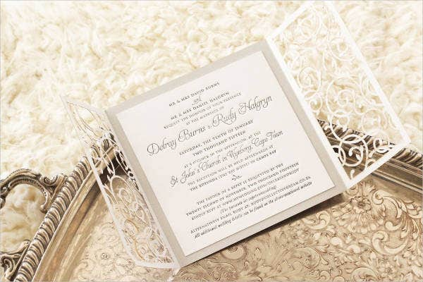 Enchanted Garden Wedding Invitations
