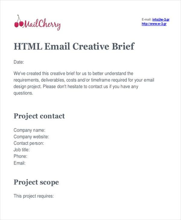 6 printable html email templates free premium templates. Black Bedroom Furniture Sets. Home Design Ideas