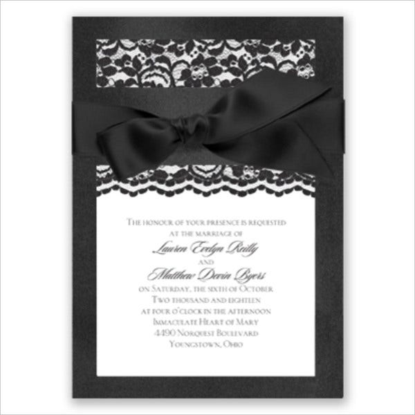 Pocket Layered Wedding Invitations