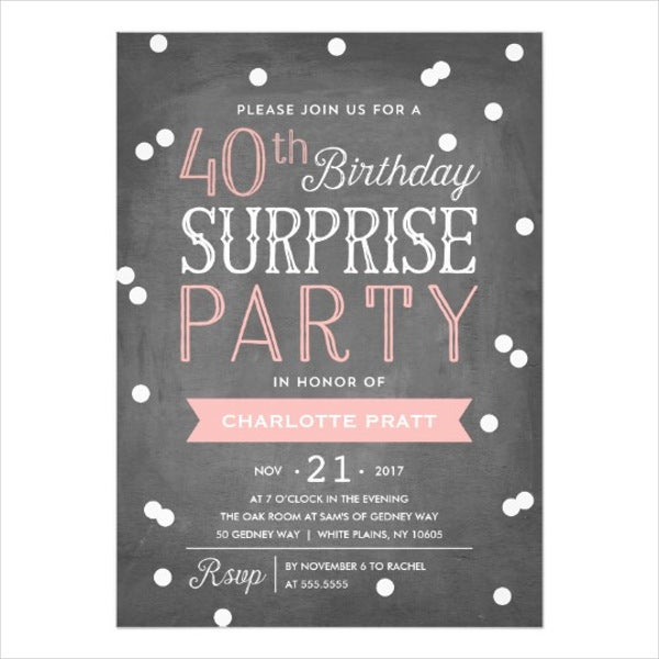 40th-surprise-birthday-invitation