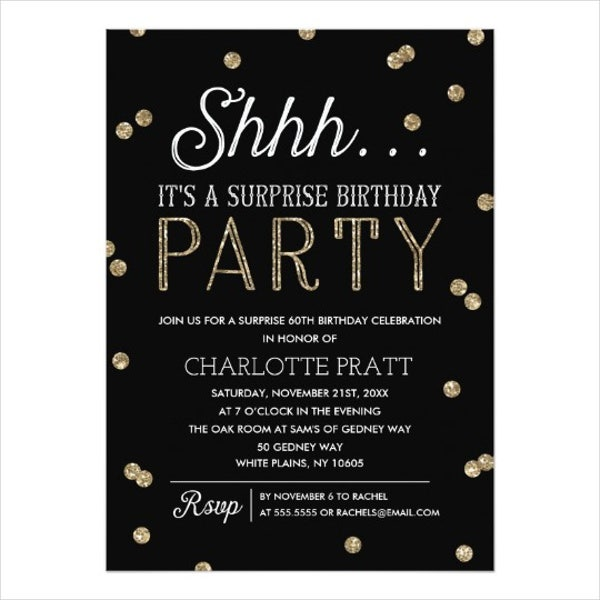 83+ Birthday Invitations - Word, PSD, AI, EPS