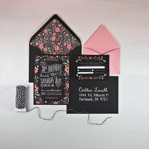 pink-floral-birthday-invitation