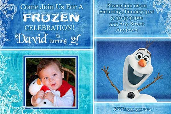 frozen-photo-birthday-invitation