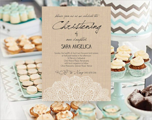 Vintage Burlap Wedding Invitations