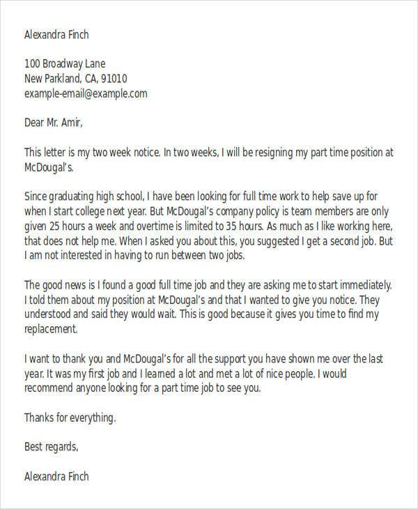 30+ Resignation Letter Templates In Doc | Free & Premium Templates