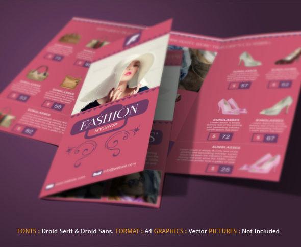 advertising fashion company brochure4