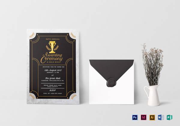 annual-award-ceremony-invitation-template