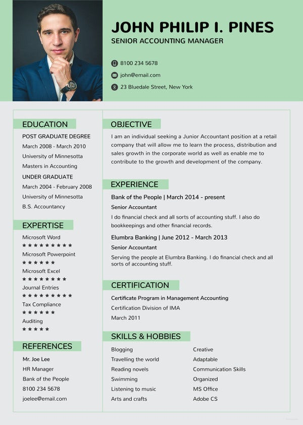banking-resume-for-experienced-template