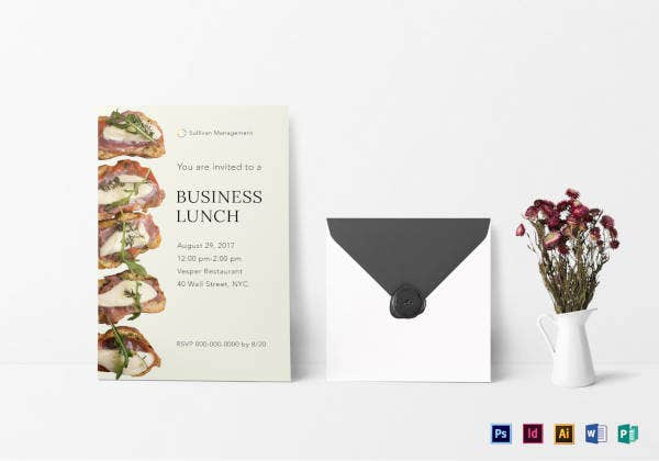 business lunch invitation template1