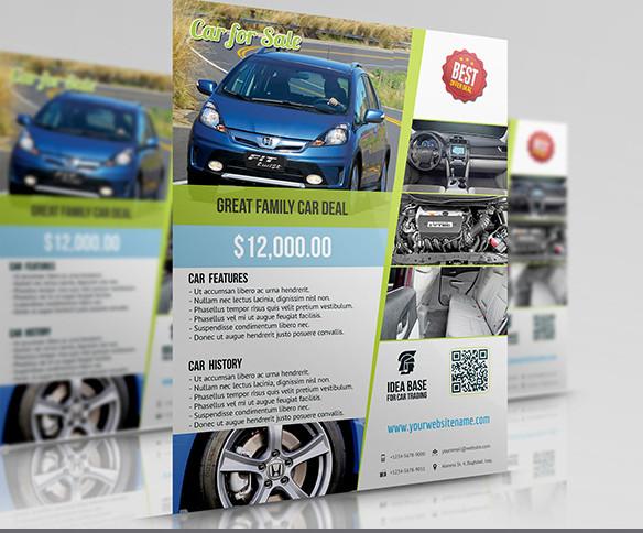 car for sale flyer1