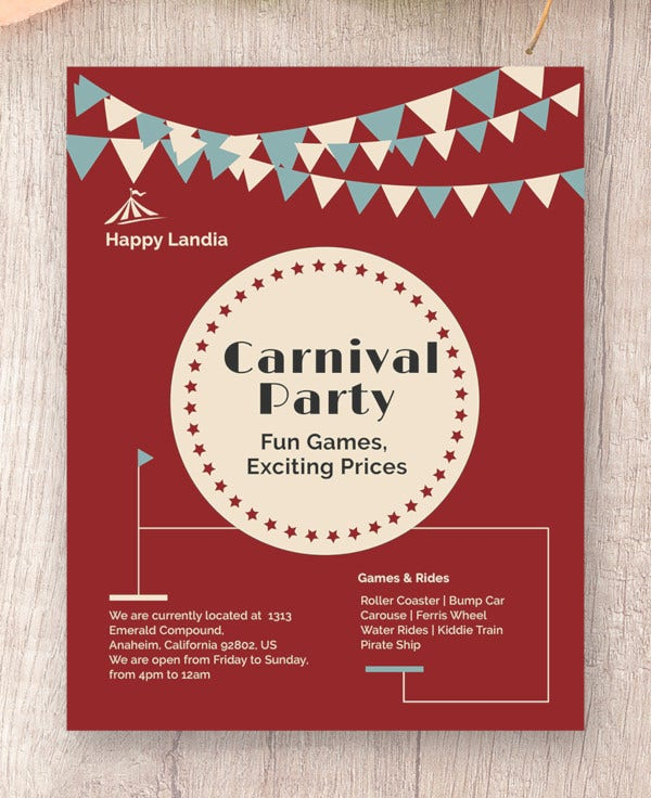 carnival-flyer-template
