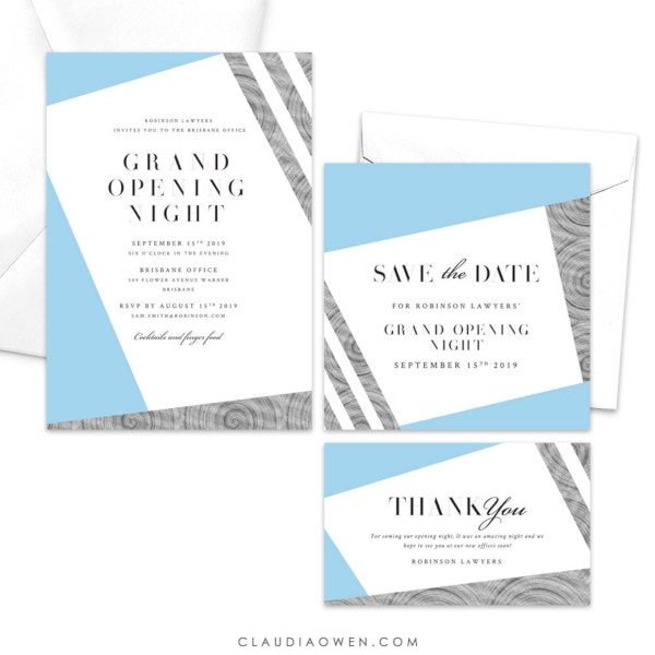 9  business dinner invitations