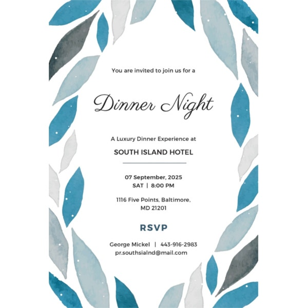 company-dinner-invitation