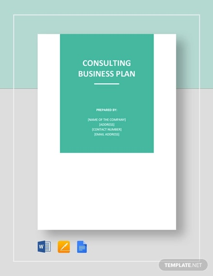 consulting business plan template1