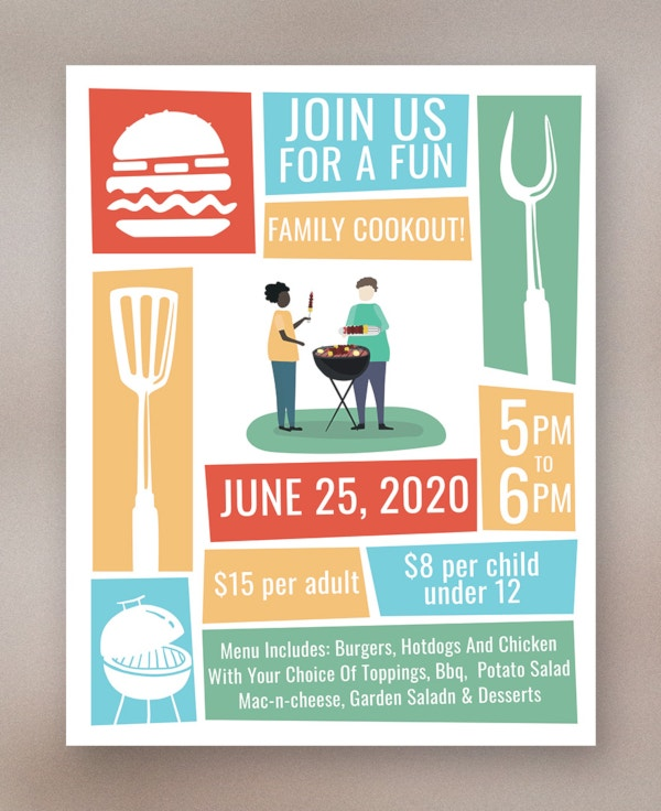 cookout-flyer-template