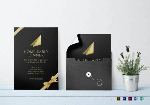 corporate-dinner-invitation-template