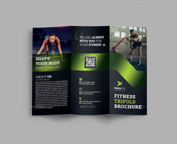 corporate fitness trifold brochure2
