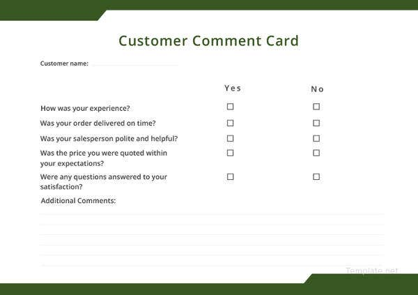 customer-comment-card-template