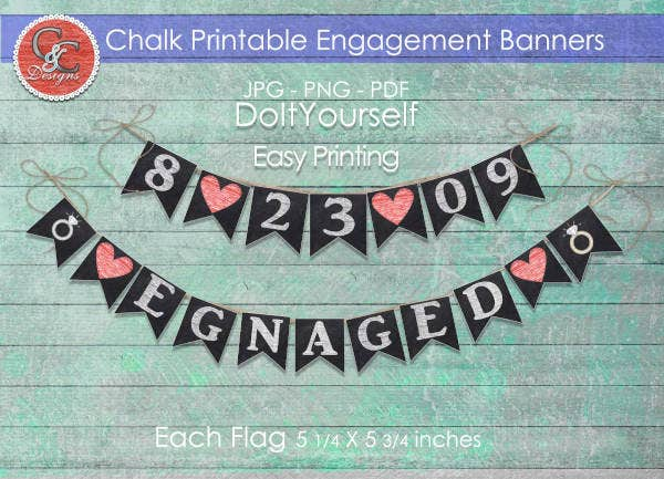 diy-engagement-party-banner