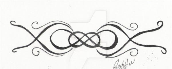double infinity tattoo2