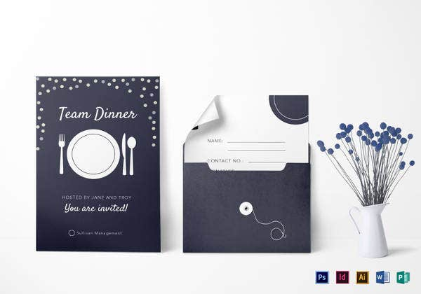 elegant-team-dinner-invitation-template