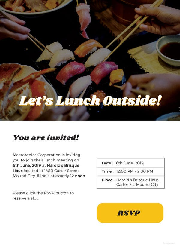 email lunch invitation template1