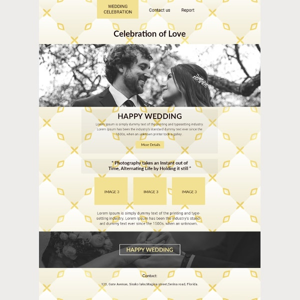 email wedding invitation to print