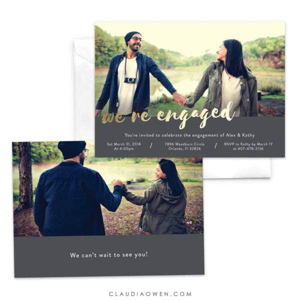 engagement-ceremony-photo-invitation
